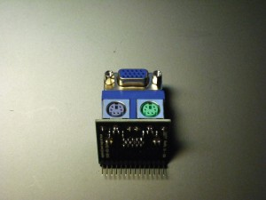 Front view, assembled module
