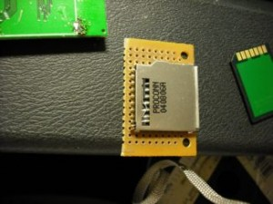 Card slot and PCB back-end