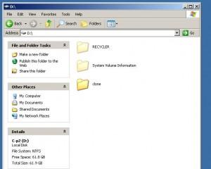 My clone directory