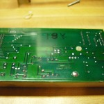 Back of power supply board