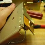 Laser mounting screws