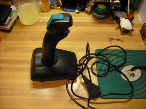 standard PC joystick