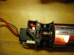 Energized laser tube