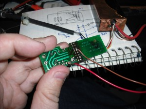 Attaching the LED