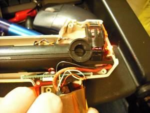 Reinstalled hardware