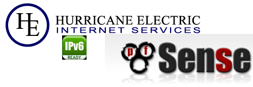 Hurricane Electric, PfSense and IPv6