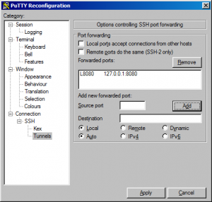 Putty Port Forward 2