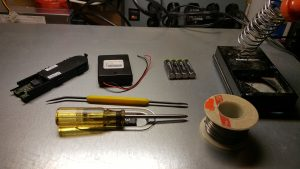 Battery overhaul tools