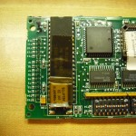 Processor board close up