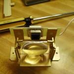 Overhead of optical sensor