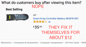 Amazon's recommendation for a replacement battery pack.